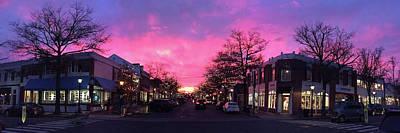 Photograph - Sunset On Elm by Susan Morrow