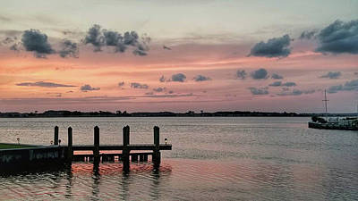 Photograph - Sunset On Fenwick Island by Kelley Nelson