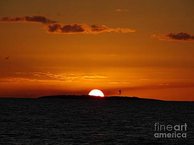 Photograph - Sunset On Goulding Cay by Lainie Wrightson