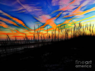 Photograph - Sunset On Hilton Head Island by Sue Melvin