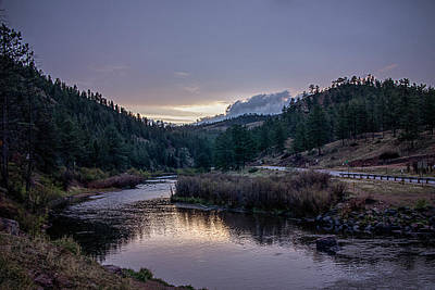 Photograph - Sunset On Horse Creek by Teresa Wilson