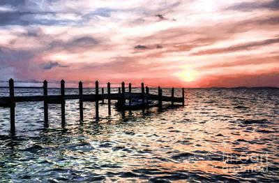 Photograph - Sunset On Islamorada # 5 by Mel Steinhauer