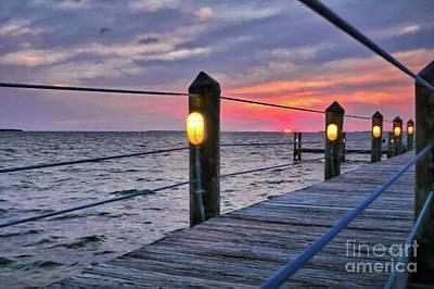 Photograph - Sunset On Islamorada by Mel Steinhauer