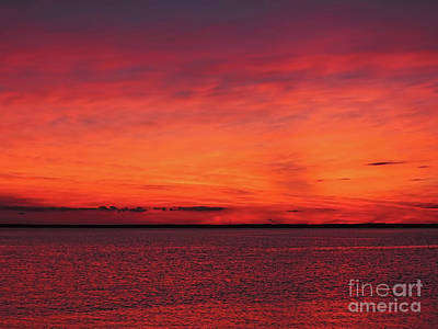 Photograph - Sunset On Jersey Shore by Jeff Breiman