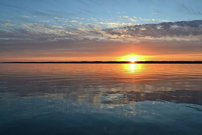 Photograph - Sunset On Kempenfelt Bay  by Lyle Crump