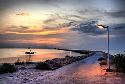 Sunset On Kerkennah Island Art Print by Aleksey Napolskih