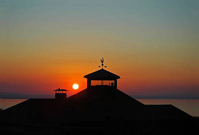 Photograph - Sunset On Lake Constance by Ginger Wakem