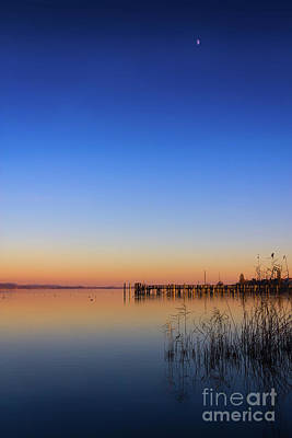 Photograph - Sunset On Lake Constance II by Bernd Laeschke