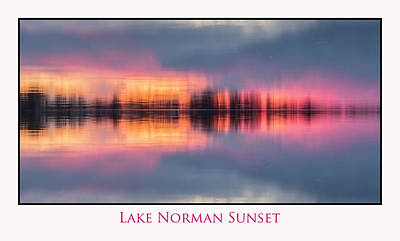 Photograph - Sunset On Lake Norman by Ronald Santini