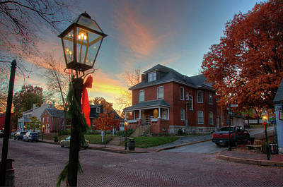 Photograph - Sunset On Main Street by Steve Stuller