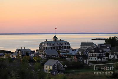 Photograph - Sunset On Monhegan Island  by Marcia Lee Jones