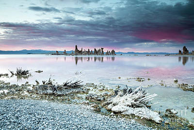 Photograph - Sunset On Monolake by Olivier Steiner