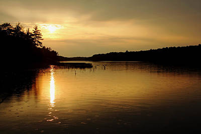 Photograph - Sunset On Moon River by Debbie Oppermann