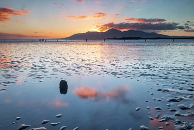 Photograph - Sunset On New Year's Day Tyrella Beach by Glen Sumner
