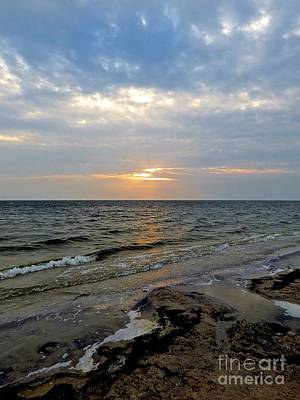 Photograph - Sunset On Pamlico Sound by Jean Wright