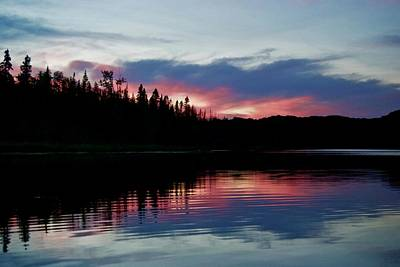 Photograph - Sunset On Sage Lake by Michael Peychich