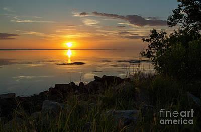 Photograph - Sunset On Saint Joseph Bay, Florida by Ben Sellars