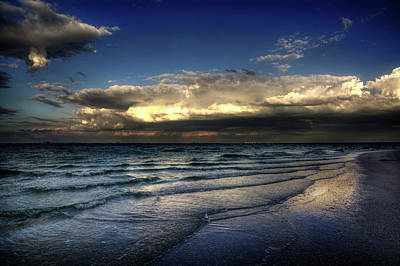Beach Photograph - Sunset On Sanibel by Chrystal Mimbs