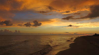 Pasta Al Dente - Sunset on Sanibel Island by Melinda Saminski