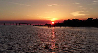 Photograph - Sunset On Santa Rosa Sound by Patricia Walter