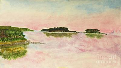 Painting - Sunset On Sea, Painting by Irina Afonskaya