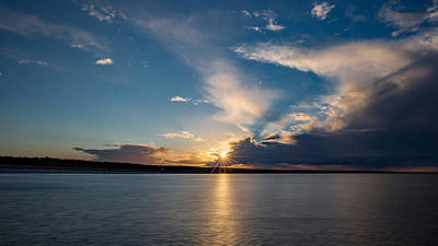 Photograph - Sunset On The Baltic Sea by Andreas Levi