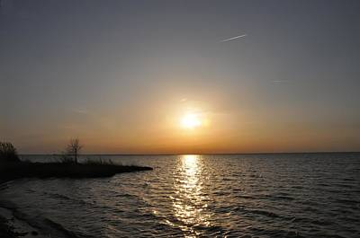 Chesapeake Photograph - Sunset On The Bay by Bill Cannon