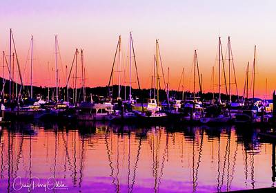 Photograph - Sunset On The Bay by Craig Perry-Ollila