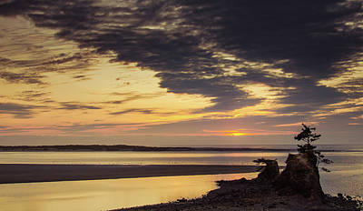 Photograph - Sunset On The Bay by Don Schwartz