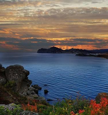 Sunset On The Black Sea Original