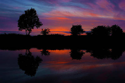 Photograph - Sunset On The Bladnoch by Andy Beattie Photography