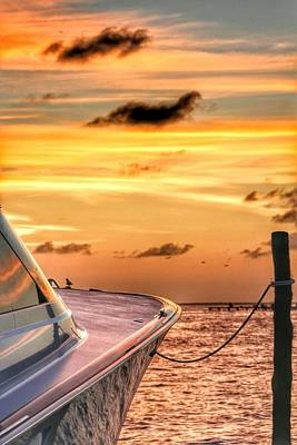 Amazing Stories Photograph - Sunset On The Boat by Toni Fontana