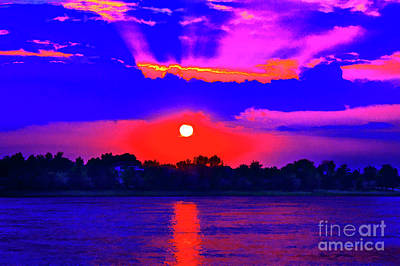 Photograph - Sunset On The Danube by Rick Bragan