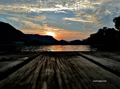 Photograph - Sunset On The Dock by Susie Loechler
