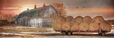 Photograph - Sunset On The Farm by Lori Deiter