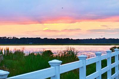 Photograph - Sunset On The Indian River by Kim Bemis