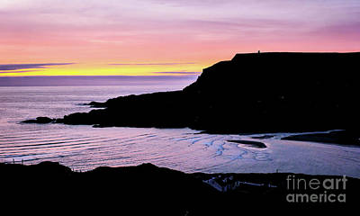 Photograph - Sunset On The Irish Coast by Lexa Harpell