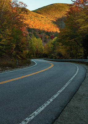 Photograph - Sunset On The Kancamagus Highway by Jim Cheney