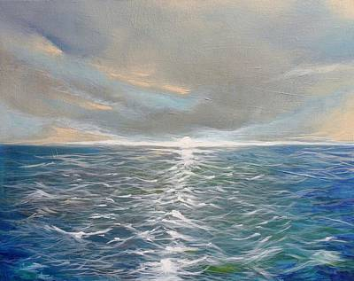 Painting - Sunset On The Keys by Skye Taylor