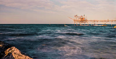 Photograph - Sunset On The Mediterranean Sea by Andrea Mazzocchetti