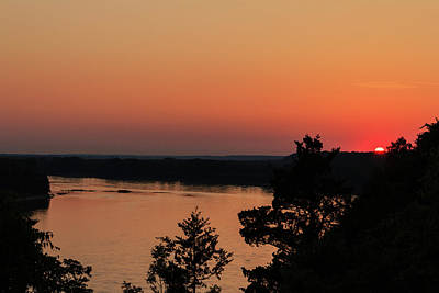 Photograph - Sunset On The Missouri River by Joni Eskridge