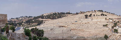 Photograph - Sunset On The Mount Of Olives - Jerusalem by Yoel Koskas