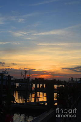 Photograph - Sunset On The Outer Banks - Carolina Coast by Scott D Van Osdol