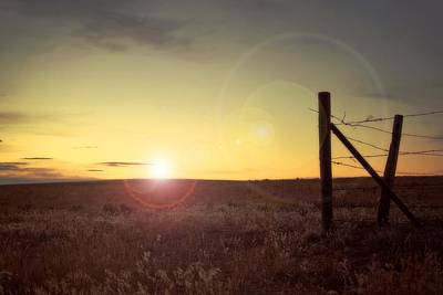 Photograph - Sunset On The Prairie by Amanda Smith