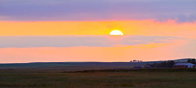 Photograph - Sunset On The Reservation by Kate Purdy