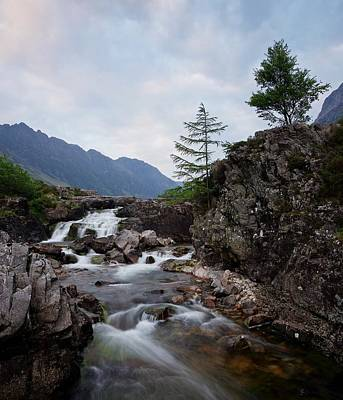 Photograph - Sunset On The River Coe by Stephen Taylor