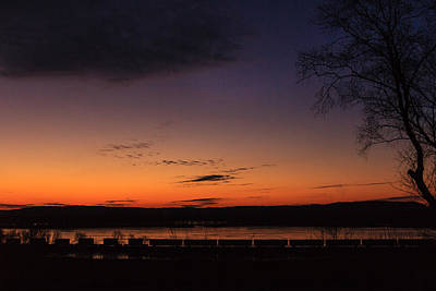 Photograph - Sunset On The River by Joni Eskridge