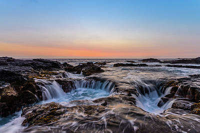 Photograph - Sunset On The Rocks 4 by Jason Chu