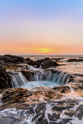 Photograph - Sunset On The Rocks 7 by Jason Chu