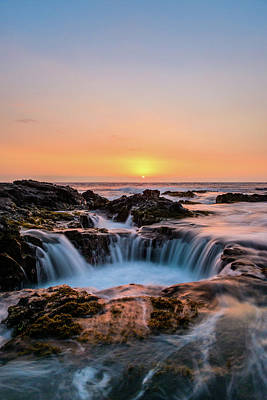 Photograph - Sunset On The Rocks 8 by Jason Chu